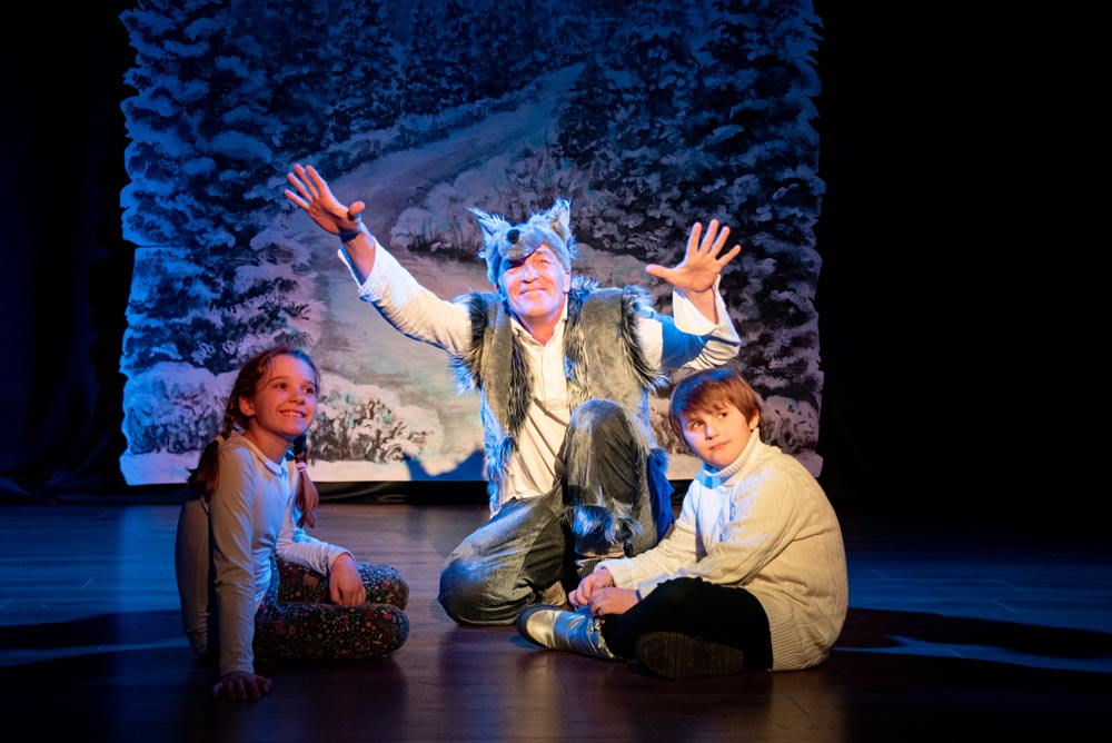 Новогодний фильм-спектакль «Дед Мороз и забытая сказка».